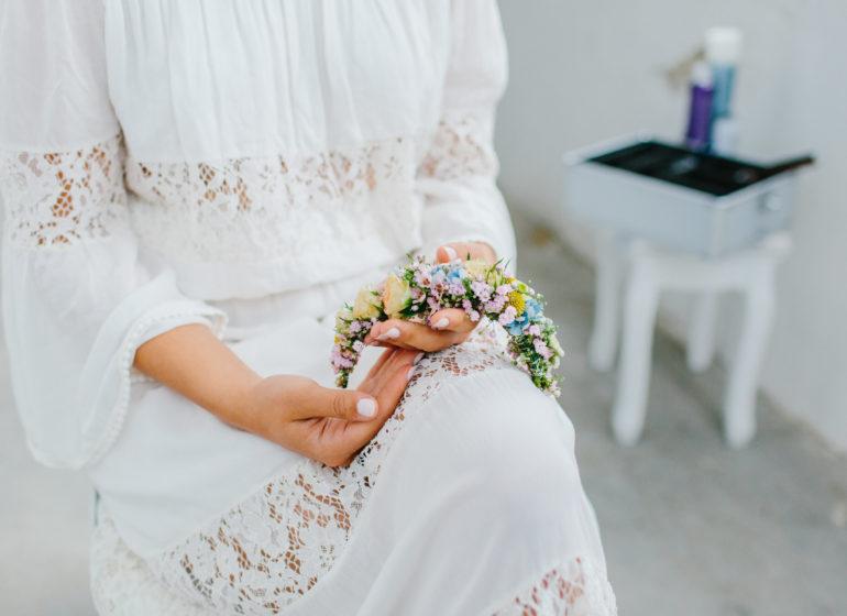 Vintage Wedding-Styled Fotoshooting