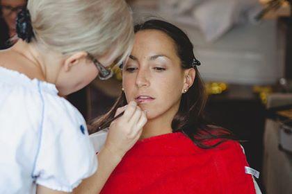 Green Wedding Alm Frisur Make-Up Oberjoch Allgäu